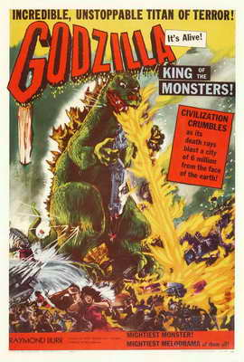 Godzilla, King of the Monsters - 27 x 40 Movie Poster - Style B