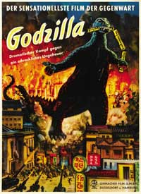 Godzilla, King of the Monsters - 11 x 17 Movie Poster - German Style A