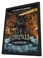 Godzilla Millenium - 27 x 40 Movie Poster - Style A - in Deluxe Wood Frame