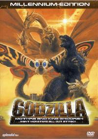 Godzilla, Mothra and King Ghidorah: Giant Monsters All-Out Attack - 27 x 40 Movie Poster - German Style A