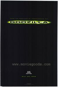 Godzilla - 11 x 17 Movie Poster - Style D
