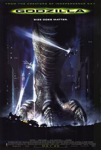 Godzilla - 27 x 40 Movie Poster - Style E