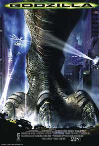 Godzilla - 27 x 40 Movie Poster - Spanish Style A