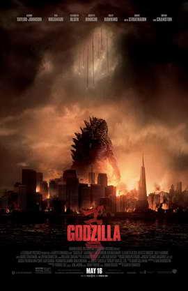 Godzilla - 11 x 17 Movie Poster - Style A