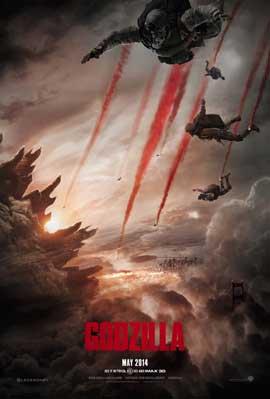 Godzilla - 11 x 17 Movie Poster - Style B