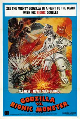 Godzilla vs. Bionic Monster - 27 x 40 Movie Poster - Style A
