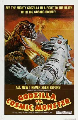 Godzilla vs. Bionic Monster - 27 x 40 Movie Poster - Style B