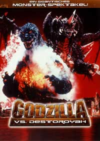 Godzilla vs. Destroyer - 11 x 17 Movie Poster - German Style A