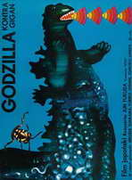 Godzilla vs. Gigan - 11 x 17 Movie Poster - Polish Style A