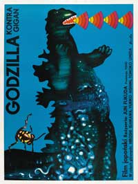 Godzilla vs. Gigan - 43 x 62 Movie Poster - Poland Style A
