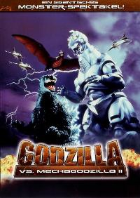 Godzilla vs. Mechagodzilla - 11 x 17 Movie Poster - German Style A
