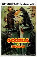 Godzilla vs. Megalon - 11 x 17 Movie Poster - Style A
