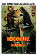 Godzilla vs. Megalon - 27 x 40 Movie Poster - Style A
