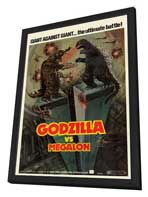 Godzilla vs. Megalon - 11 x 17 Movie Poster - Style A - in Deluxe Wood Frame