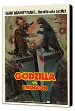 Godzilla vs. Megalon - 11 x 17 Movie Poster - Style A - Museum Wrapped Canvas