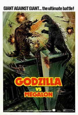 Godzilla vs. Megalon - 27 x 40 Movie Poster - Style A