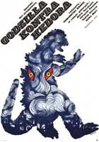 Godzilla vs. Smog Monster - 11 x 17 Movie Poster - Polish Style A