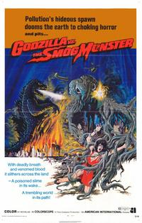 Godzilla vs. Smog Monster - 11 x 17 Movie Poster - Style A