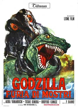 Godzilla vs. Smog Monster - 27 x 40 Movie Poster - Italian Style A