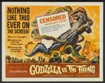 Godzilla vs. the Thing - 30 x 40 Movie Poster UK - Style A