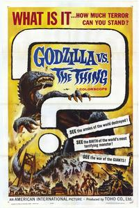 Godzilla vs The Thing - 43 x 62 Movie Poster - Bus Shelter Style A