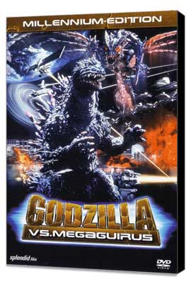 Godzilla X Megaguirus: The G Extermination Command - 11 x 17 Movie Poster - German Style A - Museum Wrapped Canvas