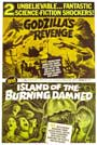 Godzilla's Revenge/Island of the Burning Damned - 11 x 14 Movie Poster - Style A