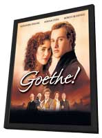 Goethe! - 11 x 17 Movie Poster - Style A - in Deluxe Wood Frame