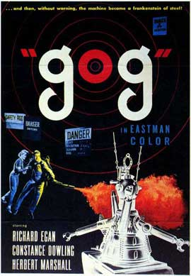 Gog - 11 x 17 Movie Poster - Style A