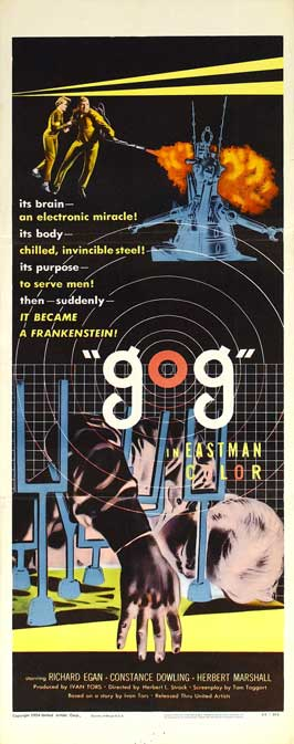 Gog - 14 x 36 Movie Poster - Insert Style A