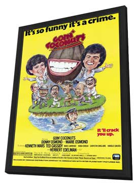 Goin' Coconuts - 11 x 17 Movie Poster - Style A - in Deluxe Wood Frame