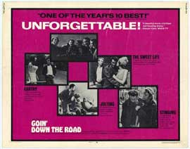 Goin' Down the Road - 22 x 28 Movie Poster - Half Sheet Style A