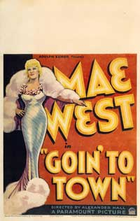 Goin' to Town - 43 x 62 Movie Poster - Bus Shelter Style B