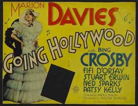 Going Hollywood - 11 x 14 Movie Poster - Style A