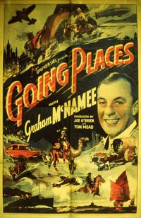 Going Places with Graham McNamee - 11 x 14 Movie Poster - Style A