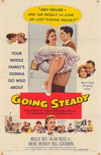 Going Steady - 43 x 62 Movie Poster - Bus Shelter Style A