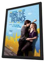 Going the Distance - 11 x 17 Movie Poster - Style A - in Deluxe Wood Frame