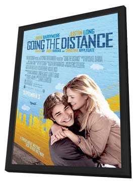 Going the Distance - 27 x 40 Movie Poster - Style A - in Deluxe Wood Frame