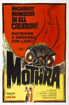 Gojira vs. Mosura - 27 x 40 Movie Poster - Style A