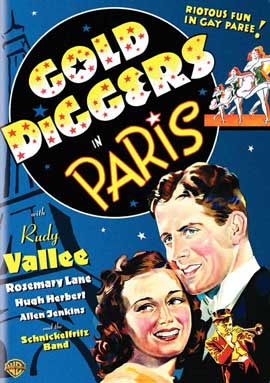 Gold Diggers in Paris - 27 x 40 Movie Poster - Style A