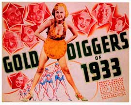 Gold Diggers of 1933 - 11 x 14 Movie Poster - Style A