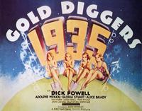 Gold Diggers of 1935 - 22 x 28 Movie Poster - Half Sheet Style A