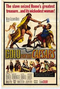 Gold for the Caesars - 27 x 40 Movie Poster - Style A