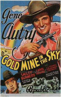 Gold Mine in the Sky - 27 x 40 Movie Poster - Style B