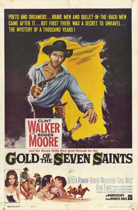 Gold of the Seven Saints - 11 x 17 Movie Poster - Style B