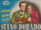 Golden Boy - 11 x 17 Movie Poster - Spanish Style B