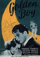 Golden Boy - 11 x 17 Movie Poster - French Style A