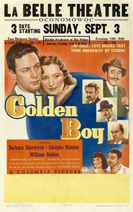 Golden Boy - 11 x 17 Movie Poster - Style E