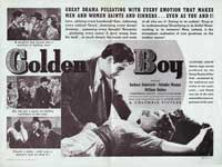 Golden Boy - 22 x 28 Movie Poster - Half Sheet Style A