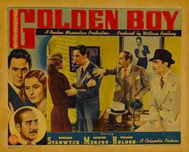 Golden Boy - 22 x 28 Movie Poster - Half Sheet Style B